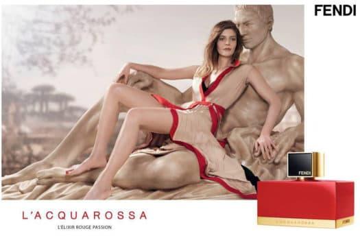 Chiara Mastroianni, égérie du nouveau parfum féminin signé FENDI