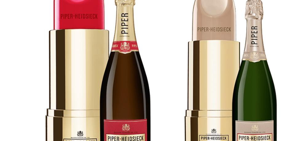Piper-Heidsieck devient lipstick le temps des fêtes